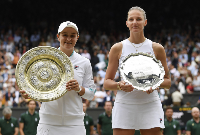 Ashleigh Barty vô địch đơn nữ Wimbledon 2021 - Ảnh 6.