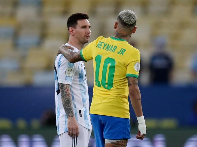 Hoàng thân Qatar báo tin vui, Messi chờ tái ngộ Neymar ở PSG - Ảnh 2.