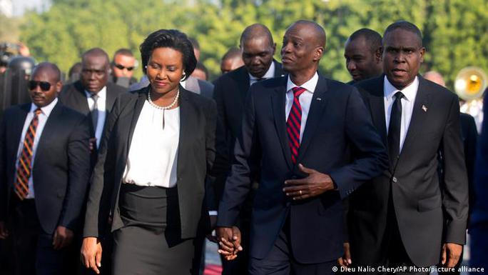 Phu nhân cố tổng thống Haiti tiết lộ động cơ của nhóm sát thủ - Ảnh 1.