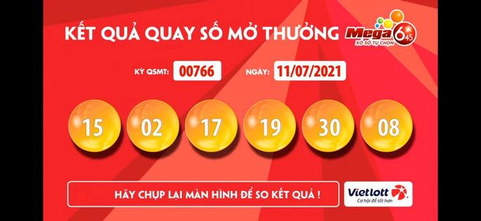 Trà Vinh bán vé Vietlott trúng 35 tỉ đồng - Ảnh 1.