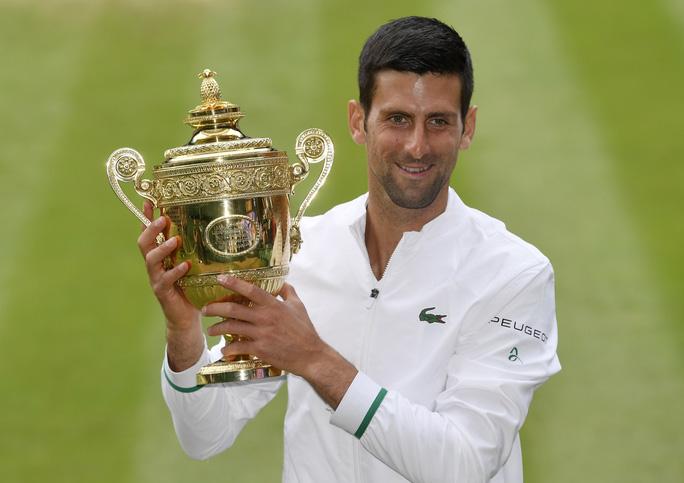 Djokovic vô địch Wimbledon 2021, san bằng kỷ lục 20 Grand Slam - Ảnh 12.