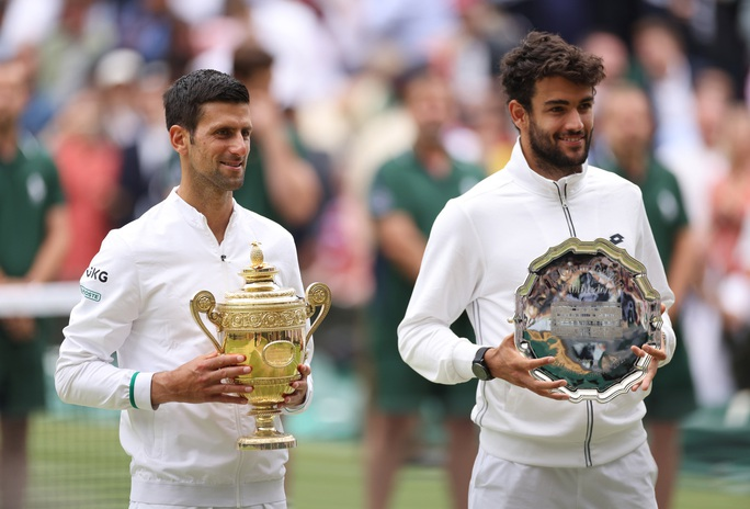 Djokovic vô địch Wimbledon 2021, san bằng kỷ lục 20 Grand Slam - Ảnh 8.