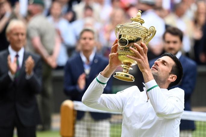Djokovic vô địch Wimbledon 2021, san bằng kỷ lục 20 Grand Slam - Ảnh 11.