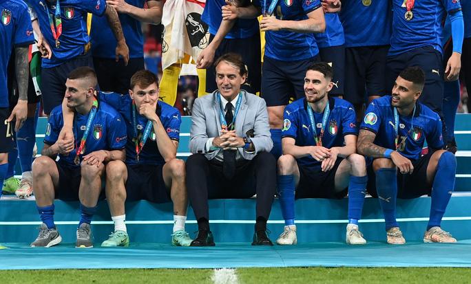 HLV Roberto Mancini giúp tuyển Ý lập nên hàng loạt kỷ lục - Ảnh 8.