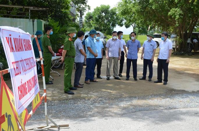 Ca nhiễm SARS-CoV-2 từ TP HCM về Thanh Hóa dự đám tang, 1 xã bị phong tỏa - Ảnh 1.