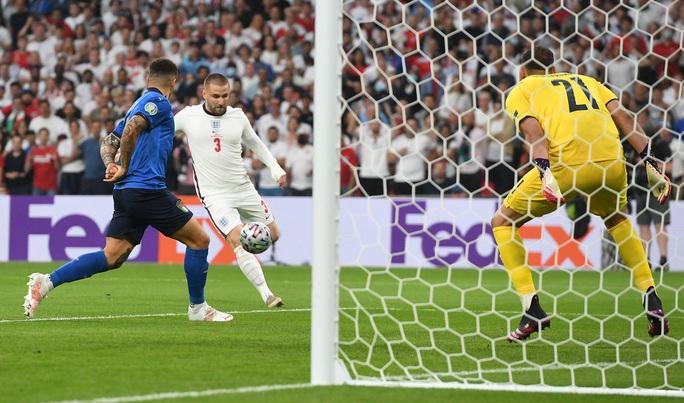 Anh gục ngã trên chấm luân lưu, Ý lên ngôi vô địch Euro 2020 - Ảnh 1.