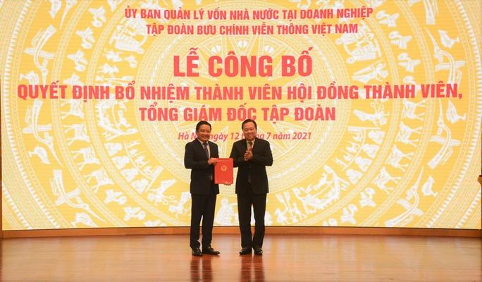 Ông Huỳnh Quang Liêm được bổ nhiệm làm Tổng Giám đốc VNPT - Ảnh 1.