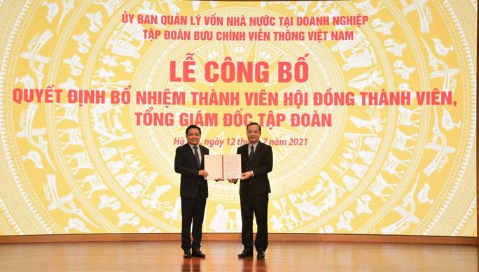 Ông Huỳnh Quang Liêm được bổ nhiệm làm Tổng Giám đốc VNPT - Ảnh 2.