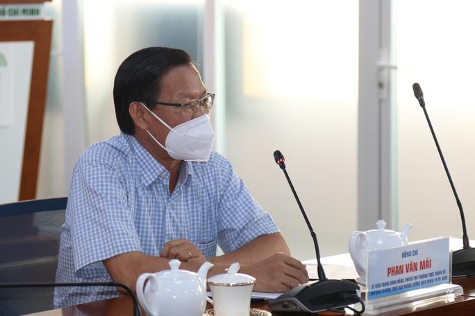 Phó Bí thư Thường trực Phan Văn Mãi: TP HCM lên 3 kịch bản sau 15 ngày thực hiện Chỉ thị 16 - Ảnh 1.