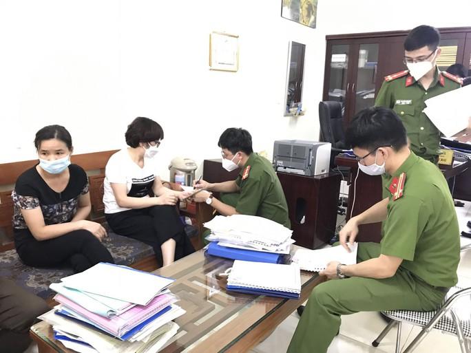 Hiệu trưởng và trưởng phòng Trường Trung cấp nghề GTVT bị khởi tố - Ảnh 2.