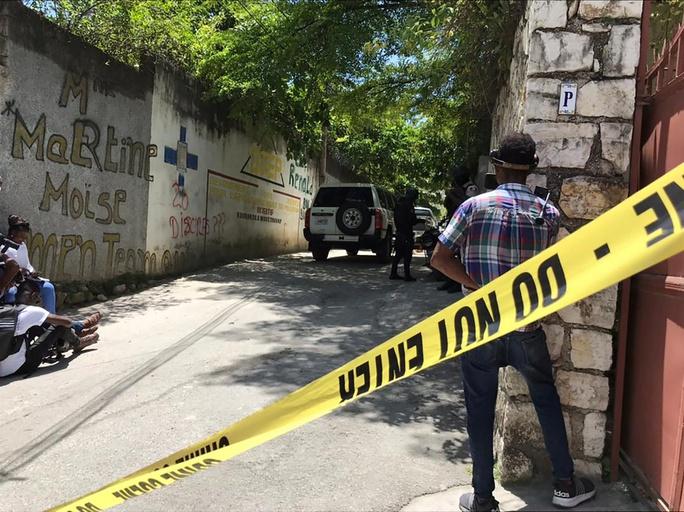 Nghi phạm ám sát Tổng thống Haiti từng cung cấp tin mật cho Mỹ - Ảnh 1.