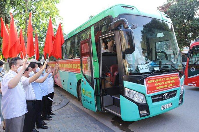 59 y, bác sĩ Thanh Hóa lên đường hỗ trợ TP HCM chống dịch Covid-19 - Ảnh 2.