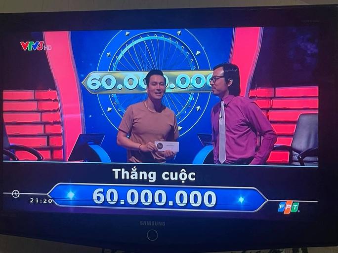 """Diễn viên Việt Anh góp 60 triệu đồng thi """"Ai là triệu phú"""" cho Quỹ vắc-xin Covid-19 - Ảnh 2."""