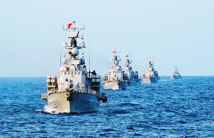Lữ đoàn 167: Làm chủ vùng trời, vùng biển của Tổ quốc - Ảnh 1.