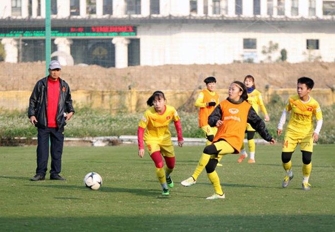 Nữ Việt Nam đặt mục tiêu dự World Cup 2023 - Ảnh 1.
