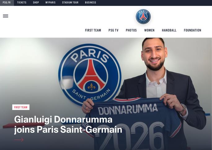 Cầu thủ xuất sắc nhất Euro 2020 gia nhập Paris Saint-Germain giá 0 đồng - Ảnh 1.