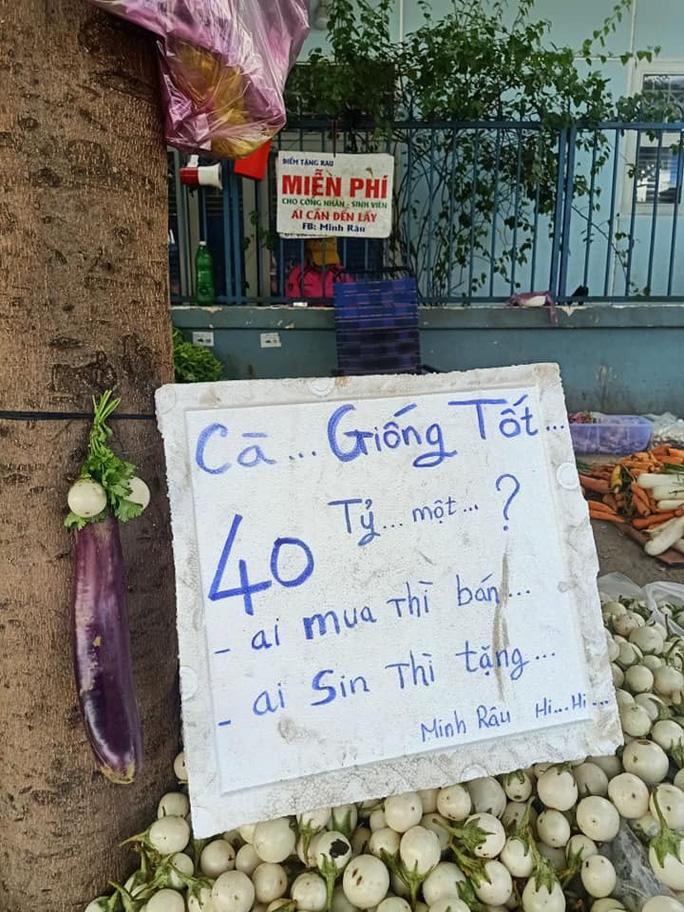 Ông chủ sạp rau Minh Râu kể về chuyện vừa bán vừa cho - Ảnh 5.