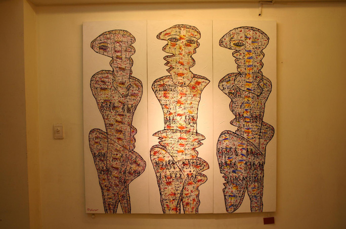 Nhà thơ, họa sĩ Lê Thánh Thư qua đời vì dịch bệnh Covid -19 - Ảnh 2.