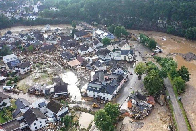 Đức, Bỉ bàng hoàng vì lũ lụt chưa từng thấy - Ảnh 2.