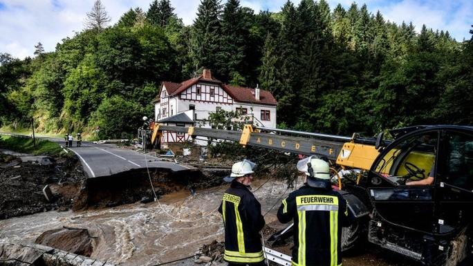 Đức, Bỉ bàng hoàng vì lũ lụt chưa từng thấy - Ảnh 5.