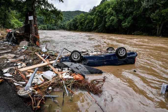 Đức, Bỉ bàng hoàng vì lũ lụt chưa từng thấy - Ảnh 8.
