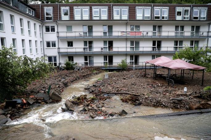 Đức, Bỉ bàng hoàng vì lũ lụt chưa từng thấy - Ảnh 11.