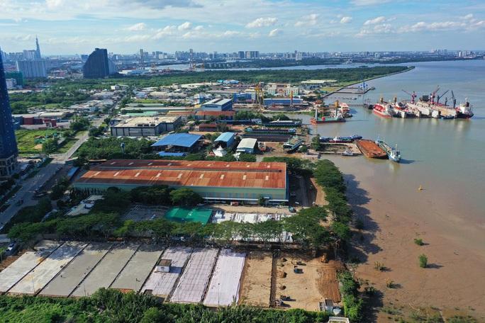 Toàn cảnh đại công trường xây dựng 2 bệnh viện dã chiến hơn 7.000 gường tại TP HCM - Ảnh 9.