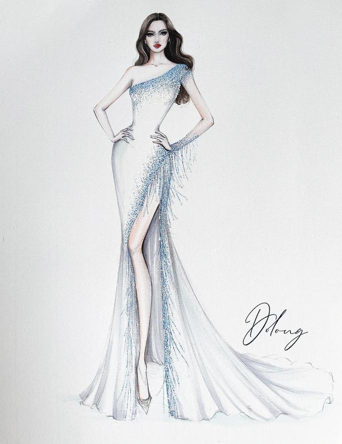 Đỗ Thị Hà trang phục thế nào tại cuộc thi Hoa hậu Thế giới 2021? - Ảnh 5.
