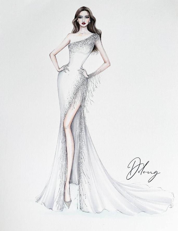 Đỗ Thị Hà trang phục thế nào tại cuộc thi Hoa hậu Thế giới 2021? - Ảnh 6.