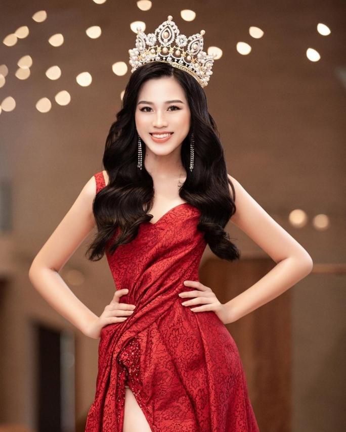 Đỗ Thị Hà trang phục thế nào tại cuộc thi Hoa hậu Thế giới 2021? - Ảnh 1.