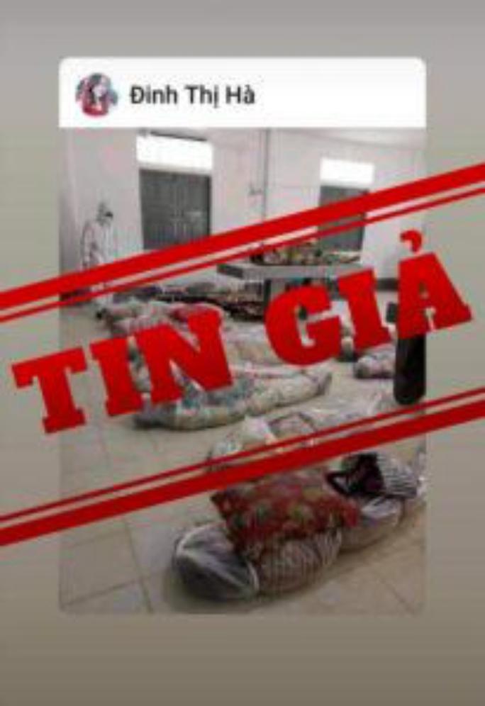 Hình ảnh xác chết do Covid-19 ở TP HCM là tin giả - Ảnh 1.