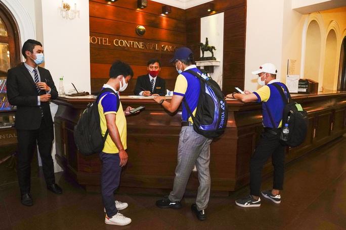 Saigontourist Group hỗ trợ phục vụ 1.050 y tế tình nguyện từ miền Bắc vào tiếp sức TP HCM chống dịch Covid-19 - Ảnh 4.