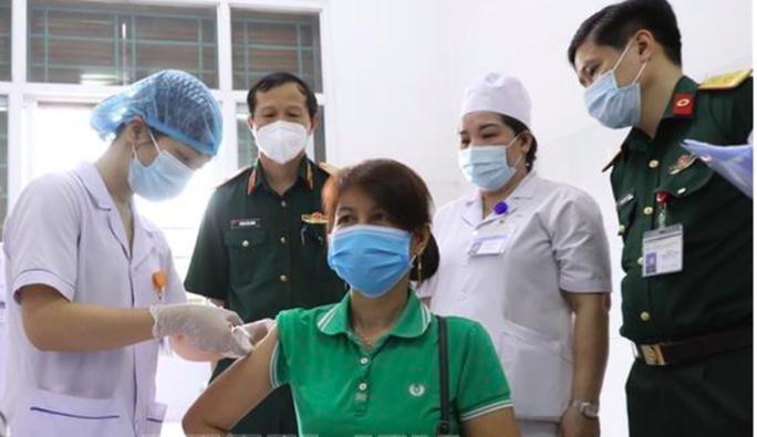 Tiêm thử nghiệm lâm sàng đợt cuối vắc-xin Covid-19 Nano Covax - Ảnh 2.
