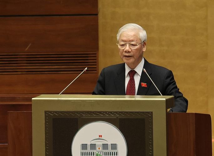 Tổng Bí thư Nguyễn Phú Trọng: Đại biểu Quốc hội cần hết lòng vì nước, vì dân, phụng sự tổ quốc - Ảnh 2.