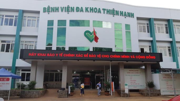 Bệnh viện đa khoa Thiện Hạnh khám bệnh trở lại sau khi tạm dừng - Ảnh 2.