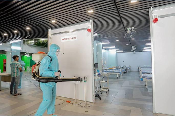 Bàn giao Bệnh viện dã chiến số 5 ở Thuận Kiều Plaza cho TP HCM - Ảnh 2.