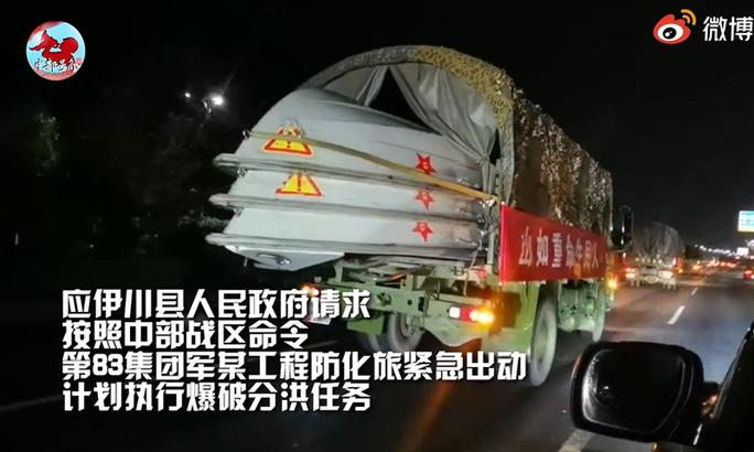 Mưa lũ nghiêm trọng, Trung Quốc điều quân đội trước nguy cơ vỡ đập - Ảnh 4.