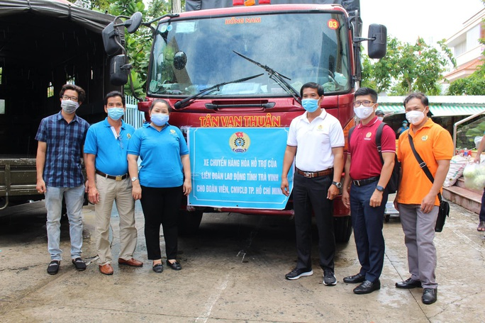 Chuyến xe nghĩa của tình Trà Vinh đến với công nhân Thành phố Hồ Chí Minh - Ảnh 4.
