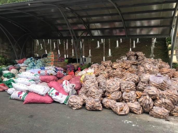 Nông sản từ Lâm Đồng đi xuyên đêm về tặng người dân TP HCM - Ảnh 9.