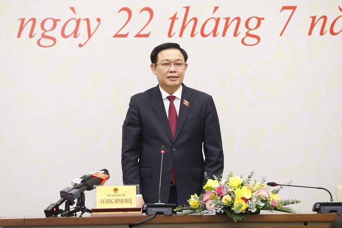 Chủ tịch Quốc hội Vương Đình Huệ chia sẻ về chương trình hành động 5 năm tới - Ảnh 1.
