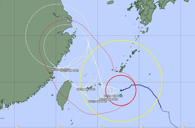 Thêm bão In-fa đe dọa Trung Quốc - Ảnh 1.