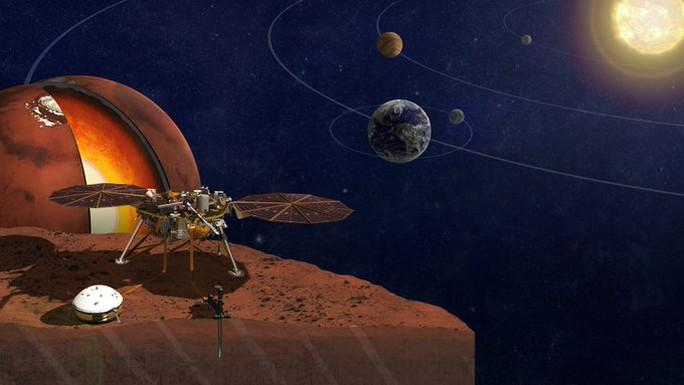 NASA tiết lộ sao Hỏa đang nóng chảy - Ảnh 1.