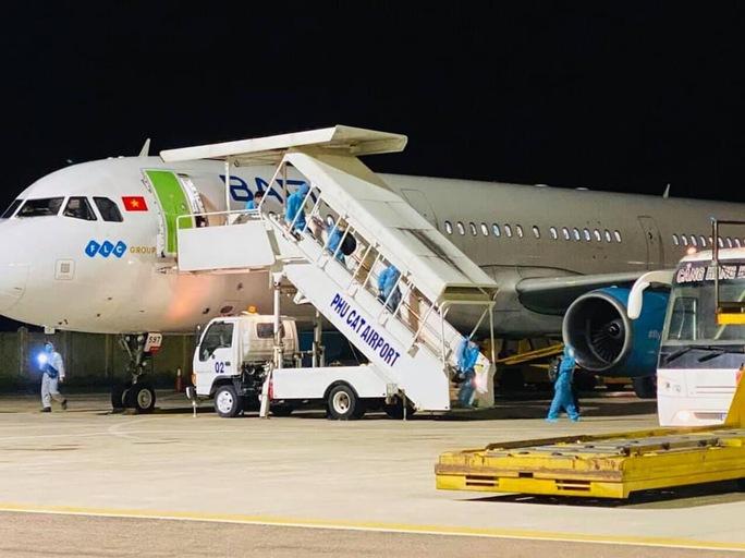 Hai người từ TP HCM về Bình Định trên chuyến bay miễn phí đầu tiên mắc Covid-19 - Ảnh 2.