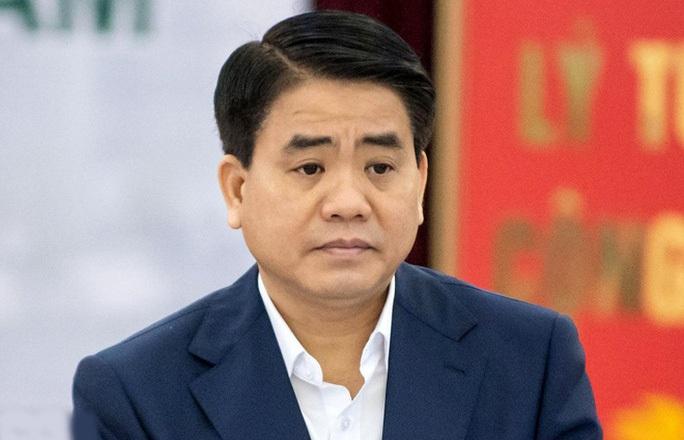 Nguyên chủ tịch TP Hà Nội Nguyễn Đức Chung bị khởi tố trong vụ án Nhật Cường - Ảnh 1.