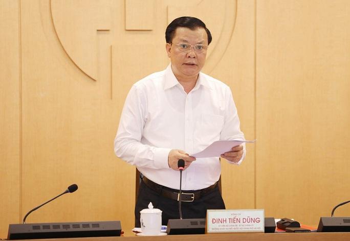 Bí thư Hà Nội nói về việc thực hiện Chỉ thị 16: Phải tranh thủ từng phút, từng giờ - Ảnh 1.