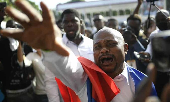 Hỗn loạn trong tang lễ cố Tổng thống Haiti - Ảnh 2.