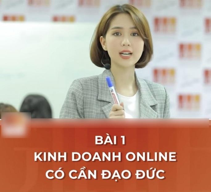 Ngọc Trinh dạy kinh doanh online, cư dân mạng... hoang mang - Ảnh 1.