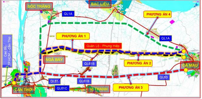 Đột phá với đường cao tốc Cần Thơ - Cà Mau - Ảnh 1.
