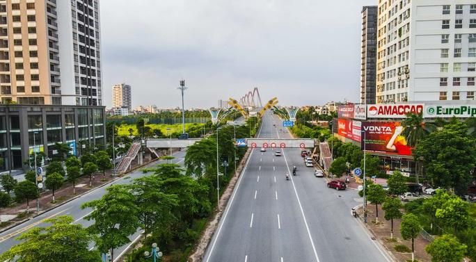 Đường phố Hà Nội những ngày thực hiện Chỉ thị 16 - Ảnh 6.