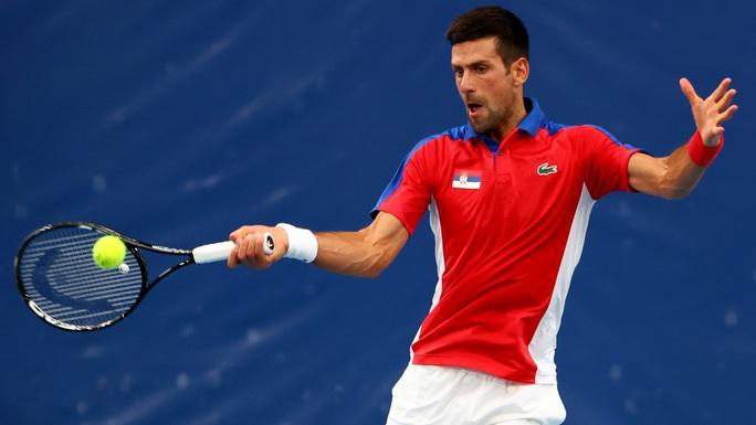 Djokovic vào vòng 3 Olympic Tokyo 2020 - Ảnh 1.